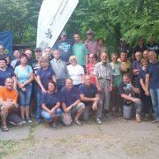 Gruppenbild mit Freiwilligen