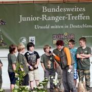 Junior Ranger auf Bühne