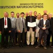 Die Projektpartner bei der Verleihung des Deutschen Naturschutzpreises 2013 © Deutscher Naturschutzpreis