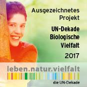 Banner der UN-Dekade Biologische Vielfalt 201